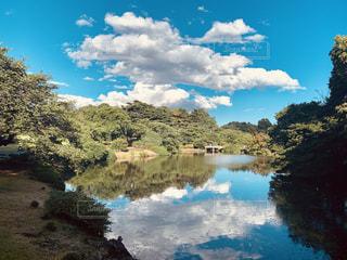 自然,風景,空,屋外,雲,水面,景色