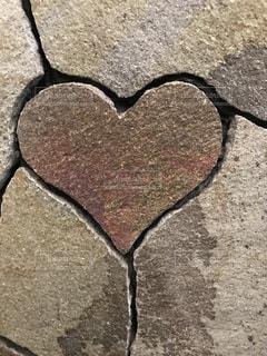 アート,ハート,壁,石