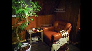 ゆったりソファでのんびりの写真・画像素材[2268861]