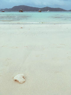 自然,海,空,夏,海外,白,ビーチ,砂浜,水面,景色,ハート,タイ,マーク,オーシャンブルー,ハートフォト