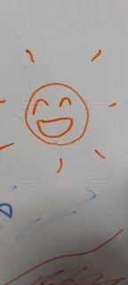空,太陽,ペン,ホワイト,手書き,紙,おえかき,ニコニコ,ボード,図面,おうち時間