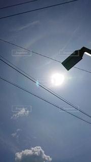 久しぶりの太陽の写真・画像素材[2280890]