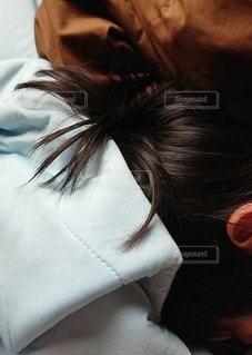 散髪行く前にサラサラヘアーをの写真・画像素材[2290734]