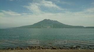 桜島と綺麗な海🌊の写真・画像素材[2329919]