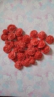 ハンドメイドのバラの写真・画像素材[2350122]