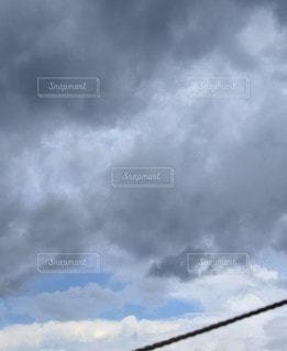 台風が近いキャンプが💦の写真・画像素材[2382539]