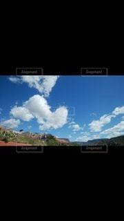 自然,風景,空,白,雲,青空,青,アメリカ,ハート,パワースポット,セドナ,白い雲,アリゾナ,マーク,クラウド