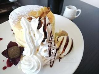 スフレパンケーキの写真・画像素材[2275600]