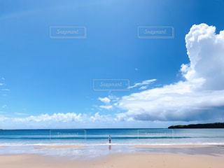 広い海と空の写真・画像素材[2330697]