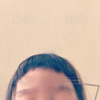 子ども,自撮り,髪,女の子,人物,セルフィー,人,幼児,眉毛