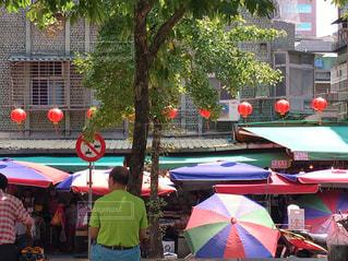 台湾の朝市の写真・画像素材[2363252]