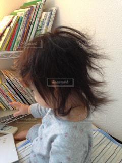 朝のお楽しみの写真・画像素材[2283241]
