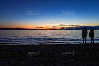 バンクーバーのビーチの写真・画像素材[2329619]