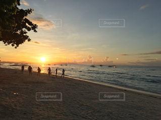 セブのビーチの写真・画像素材[2329676]