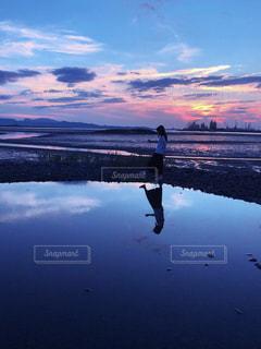 海とお散歩の写真・画像素材[2332544]