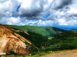 岩山のクローズアップの写真・画像素材[2415317]