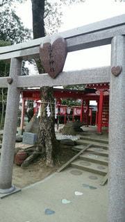 神社,ハート,恋の木神社,恋の道