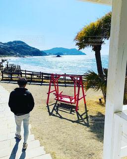 風景,海,空,ビーチ,海岸