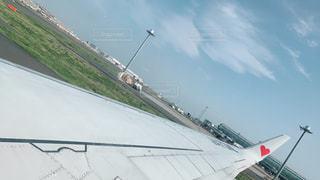 風景,空,雲,青空,飛行機,ハート,可愛い,羽,レッド,インスタ,インスタ映え