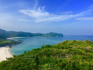 風景,海,空,屋外,ビーチ,青,ハート,マーク