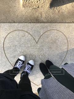 神社,足,ハート,女子旅,恋