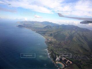 空からのハワイの写真・画像素材[2328726]