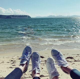 お揃いの靴の写真・画像素材[2329102]