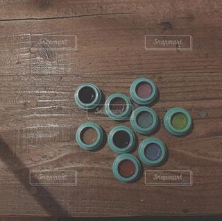 木製のテーブルの写真・画像素材[2343024]