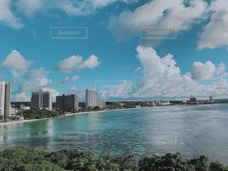グアムの海の写真・画像素材[2417107]