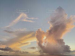 グアムの夕日の写真・画像素材[2426952]