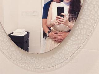 旅行先可愛い鏡の写真・画像素材[2454462]