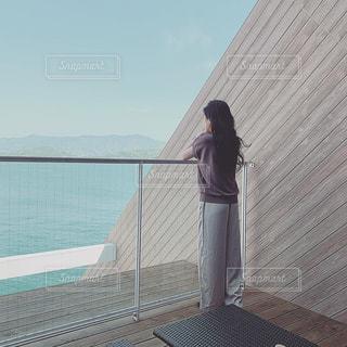 ホテルのベランダの写真・画像素材[2513866]