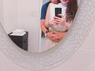 ホテルの鏡の写真・画像素材[2647269]