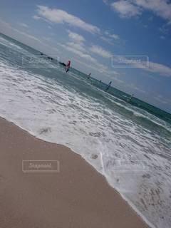 自然,海,空,サーフィン,砂浜,波,海岸