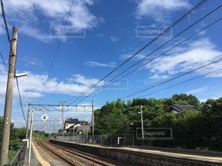 空,線路,旅行,鉄道,お出かけ