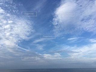 海の蒼   空の碧の写真・画像素材[2432254]