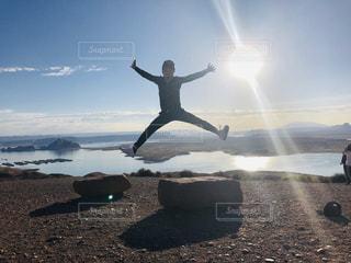 自然,空,アメリカ,旅行,レイクパウエル