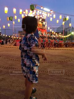 盆踊りの写真・画像素材[2448946]