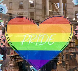 風景,建物,カラフル,虹,ハート,ロンドン,マーク,LGBT