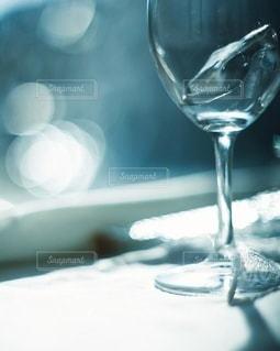 ワイングラスの中の涼🌊✨の写真・画像素材[3501182]