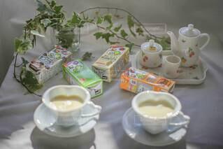 ホッ豆乳であたたまる冬♡の写真・画像素材[3810768]