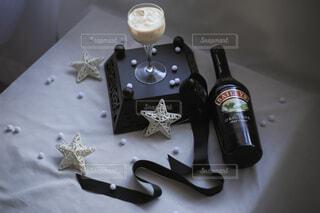 オススメの飲み方はナタデココ☆ロックに入れるだけで簡単♪の写真・画像素材[4042612]