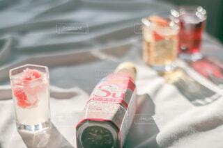 フルーティスの果物入りソーダ割り♡爽やかでうまうま♡の写真・画像素材[4159703]