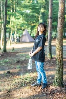 キャンプにはタラスブルバコーデで思いっきり楽しむ⛺♪の写真・画像素材[4635800]