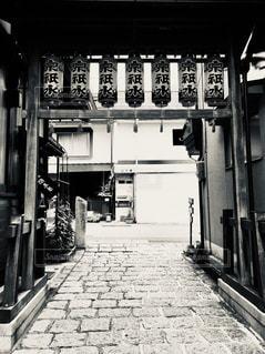 風景,屋外,白黒,レトロ,和風,フィルム,雰囲気,岐阜県,フィルム写真,郡上八幡,フィルムフォト