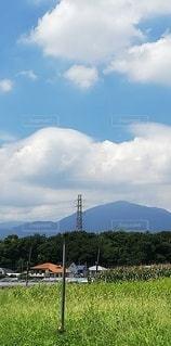 山のある風景の写真・画像素材[2417748]