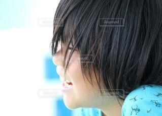 笑顔の女の子の写真・画像素材[4631083]