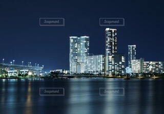 都市の夜景の写真・画像素材[4631880]