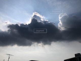 空の雲の写真・画像素材[4686805]