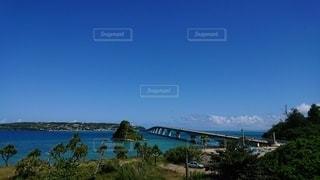 海と橋の写真・画像素材[2339295]